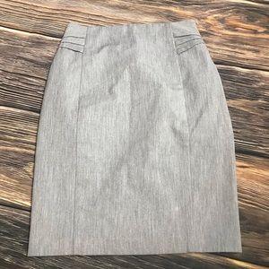 Express Skirts - Express High Waisted Linen Blend Pencil Skirt